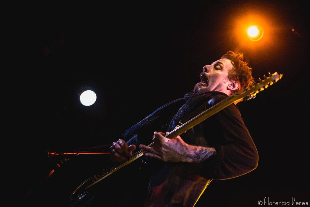 Richie Kotzen el 18 de julio del 2017 en Montevideo Music Box Banda invitada: Rude Mood Fotografía: Florencia Veres