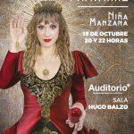 """Mónica Navarro 20 años  """"Niña Manzana"""""""
