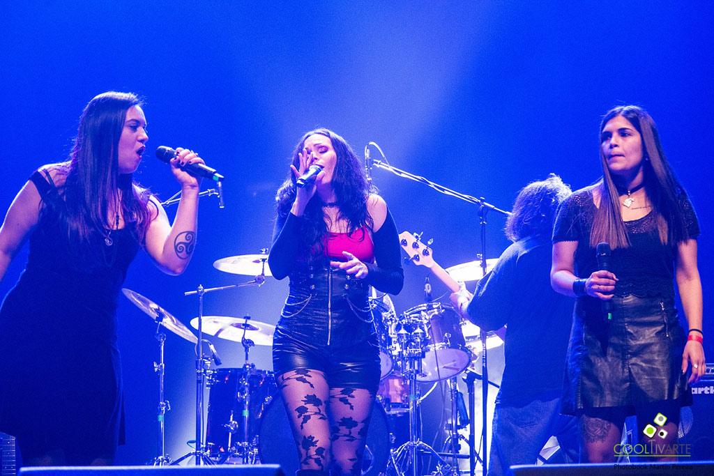 Rock & Metal Ladies Agosto 2017 - Sala Zitarrosa Foto © Martín Pereira
