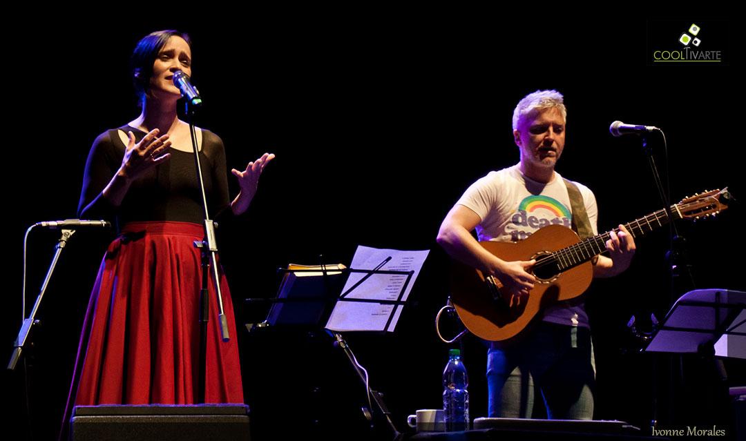Julieta Venegas & Martín Buscaglia Cierre Filba MVD 24/9/2017. Sala Zitarrosa - Foto © Ivonne Morales