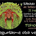 Tohora – Se presenta en el Centro Cultural Goes.