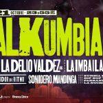 FIESTA BALKUMBIA XL LA DELIO VALDEZ (ar)+ LA IMBAILABLE ORQUESTA (uy) + SONIDERO MANDINGA