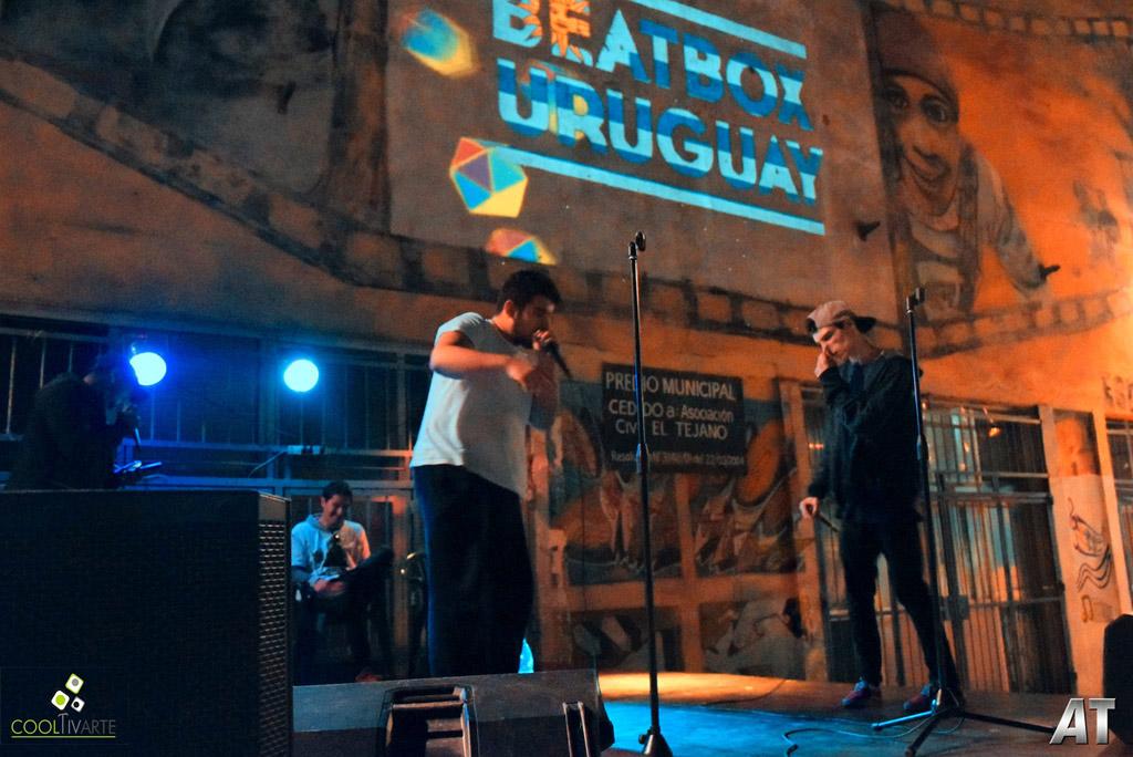 Campeonato Nacional de Beatbox 2017 - barrio La Teja - octubre 2017 - Foto © Hector AT