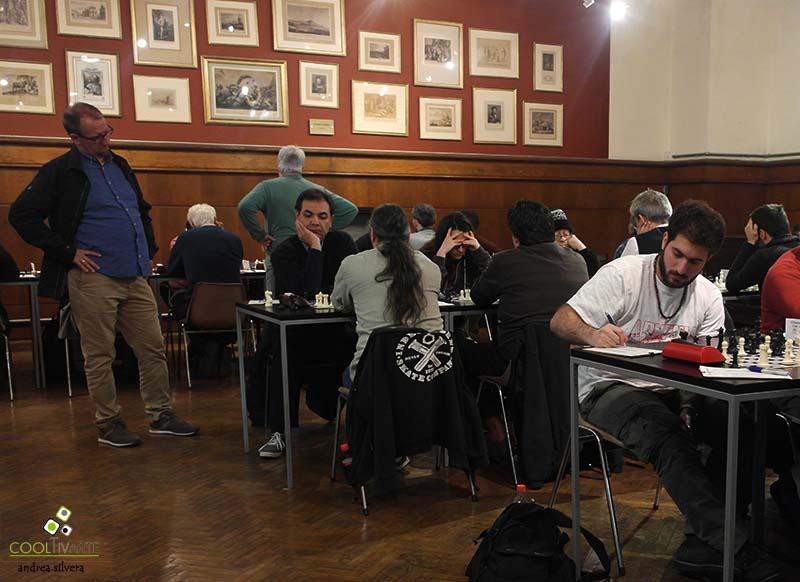 Campeonato de ajedrez a cargo del Club Trebejos - Biblioteca Nacional - 3 de octubre 2017 - Foto © Andrea Silvera