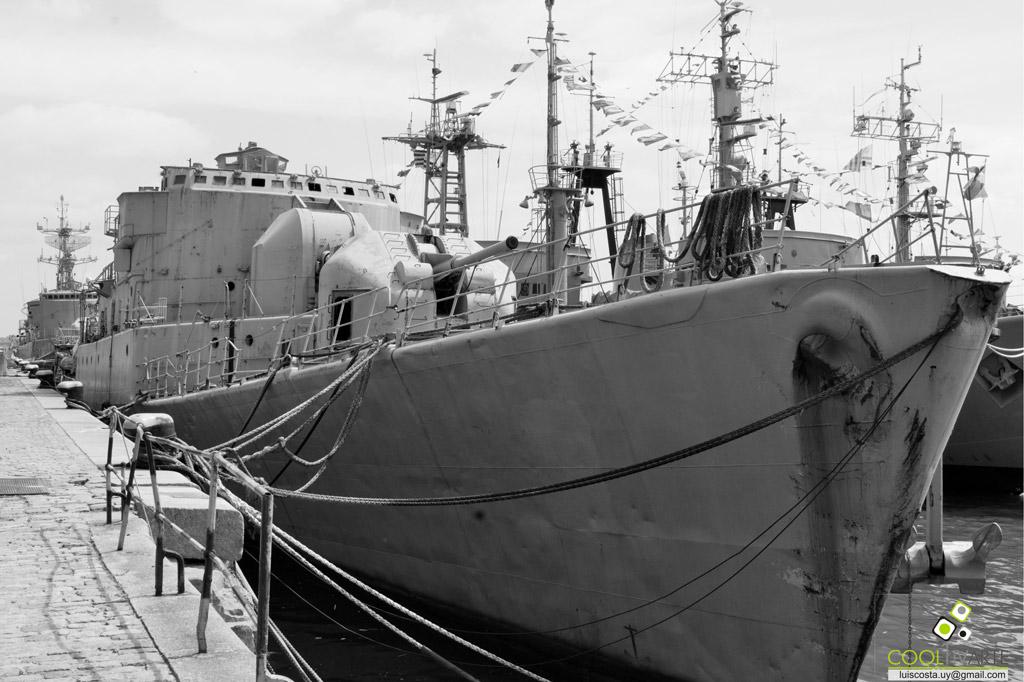 DÍA DEL PATRIMONIO Armada Nacional / Prefectura Nacional Naval - Montevideo - octubre 2017 - Foto © Luis Costa