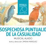 La sospechosa puntualidad de la casualidad, de Jimena Márquez