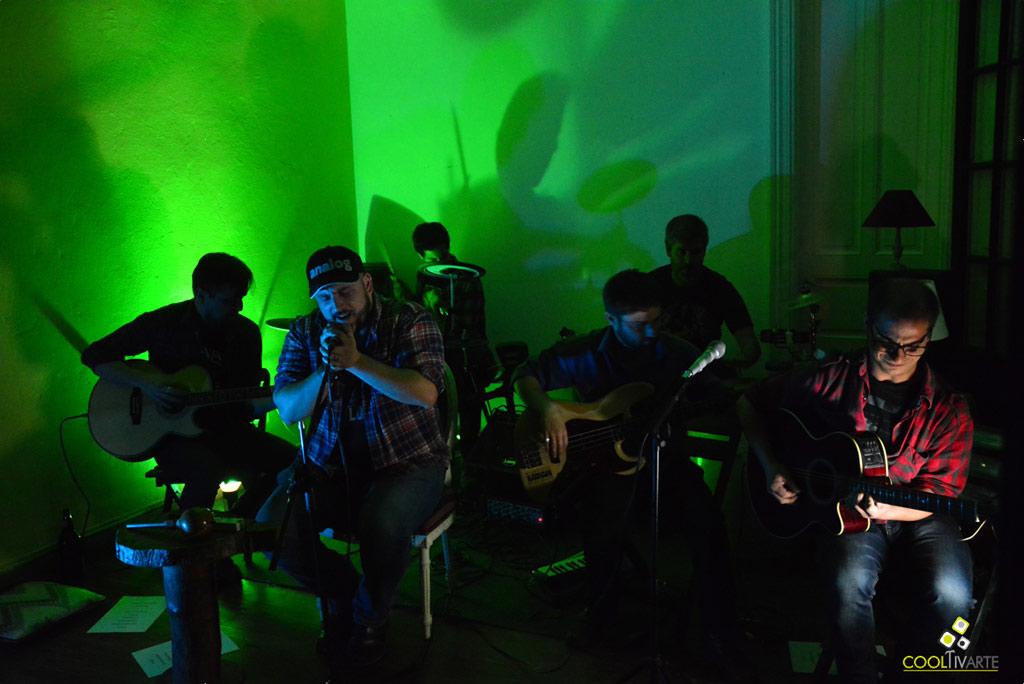 Lugosi en vivo - pre lanzamiento de disco - Centro cultural Búho - octubre 2017 - Foto © Federico Meneses