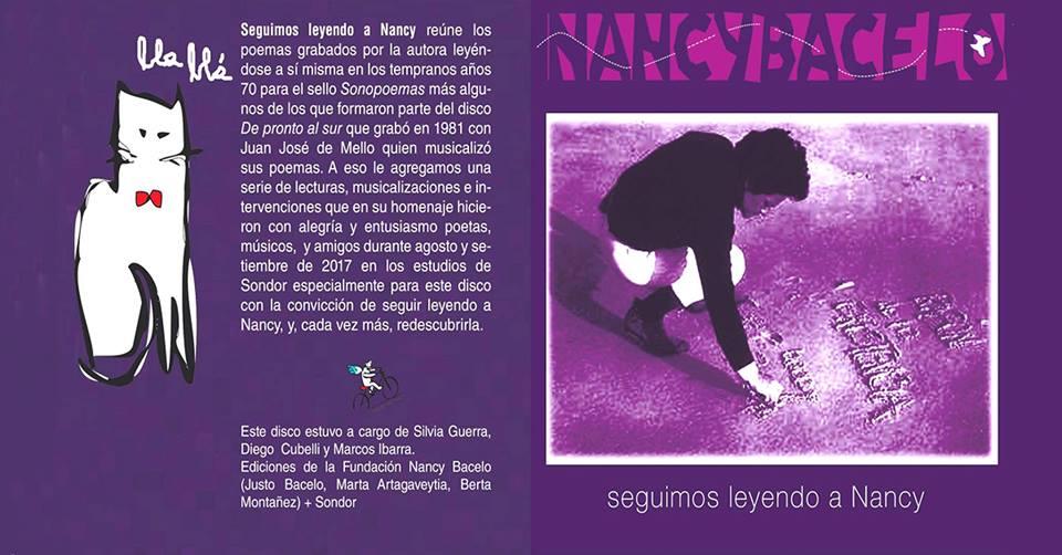 """Presentación de CD """"Seguimos leyendo a Nancy"""""""