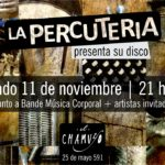 LA PERCUTERÍA  presenta su disco | sábado 11 de noviembre | 21 horas