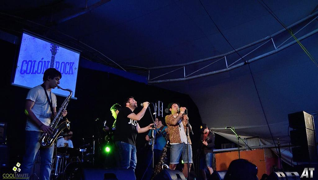 COLON ROCK 2017 - EON - LOS SAPOS TETONES - TAPELAO - PRESAGIO - ESTADOCULTO- LA TABARE - teatro de verano Colón - Noviembre 2017 - Foto © Hector AT www.cooltivarte.com --