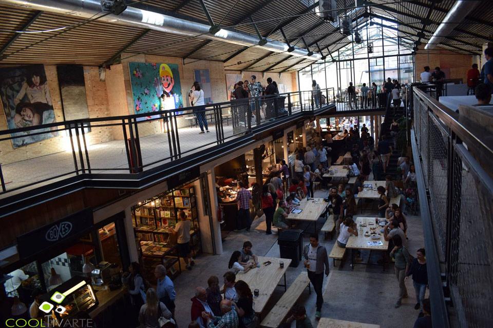Mercado Ferrando - Reciclaje, buen gusto, arte y propuesta gastronomica!! Noviembre 2017 - Foto © Aida Travella www.cooltivarte.com --