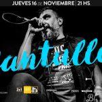 Santullo vuelve a Bluzz Live con su nuevo espectáculo en vivo