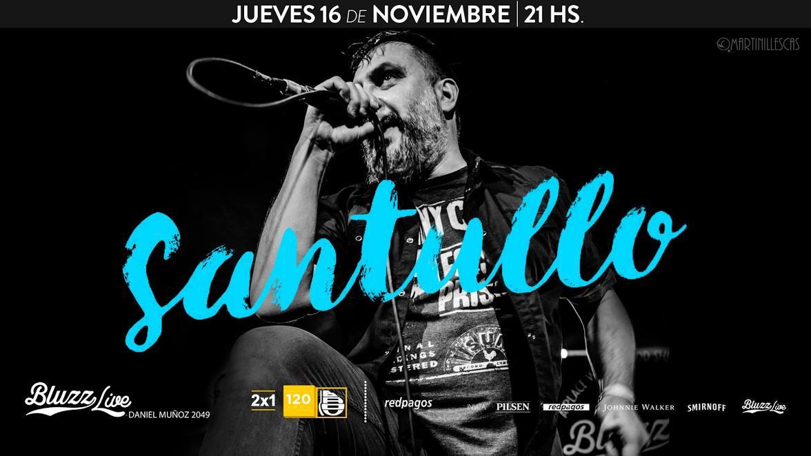 Santullo vuelve a Bluzz Live