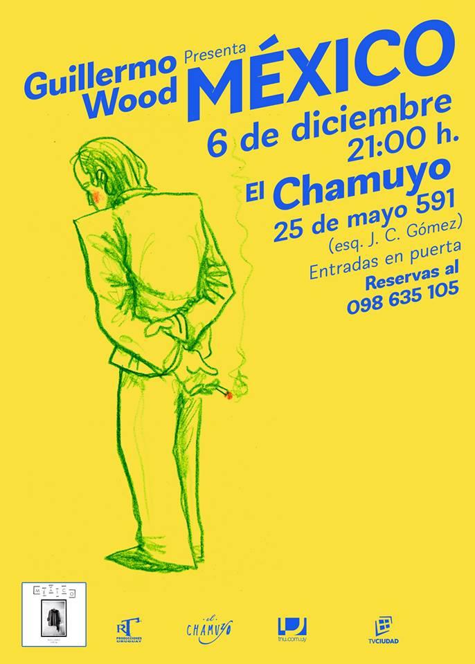 """Guillermo Wood (integrante del colectivo artístico Buceo Invisible), presenta """"México"""""""
