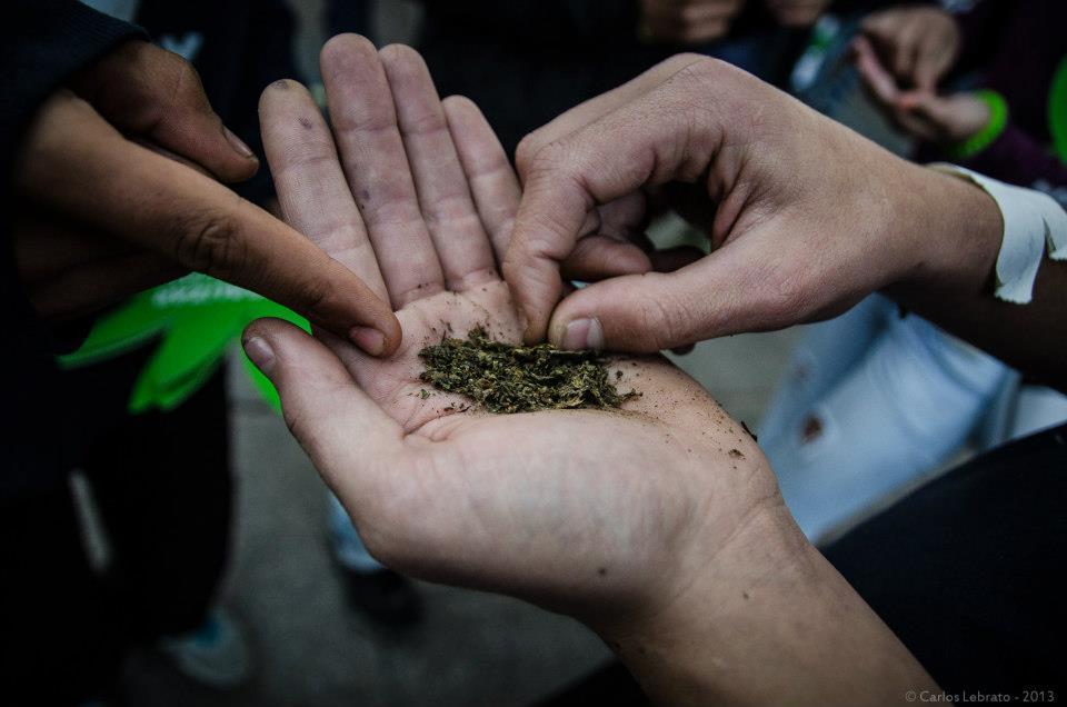 Marcha Mundial de la Marihuana - Uruguay, 08/05/2013-foto-carlos-lebrato