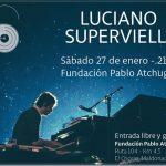 Luciano Supervielle en la Fundación Pablo Atchugarry