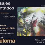 Paisajes encantados – Exposición de pintura de Beatriz Tobler y Oscar Laguzzi