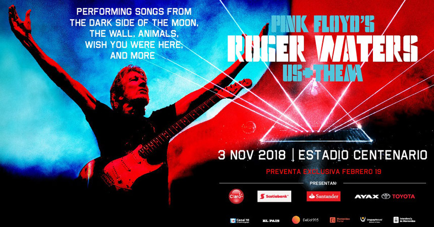 Pink Floyd's Roger Waters Us+Them