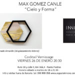 MAX GOMEZ CANLE Vernissage viernes 26 enero INNOVA