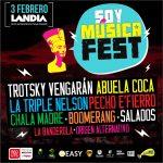 SOY MUSICA FEST – El Festival de tus vacaciones – 03 de Febrero 16 hrs. en LANDIA
