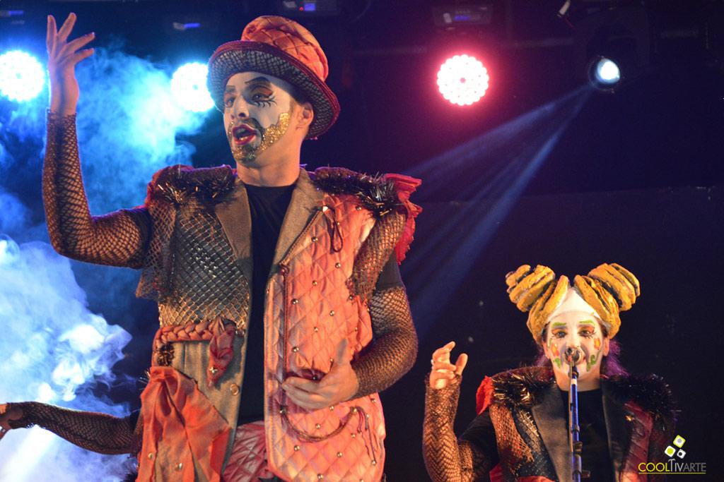 El pasado sábado 27/1/2018 en Florida, se realizó Noche de murgas - Carnaval Uruguayo - Foto © Pablo Gonzalez