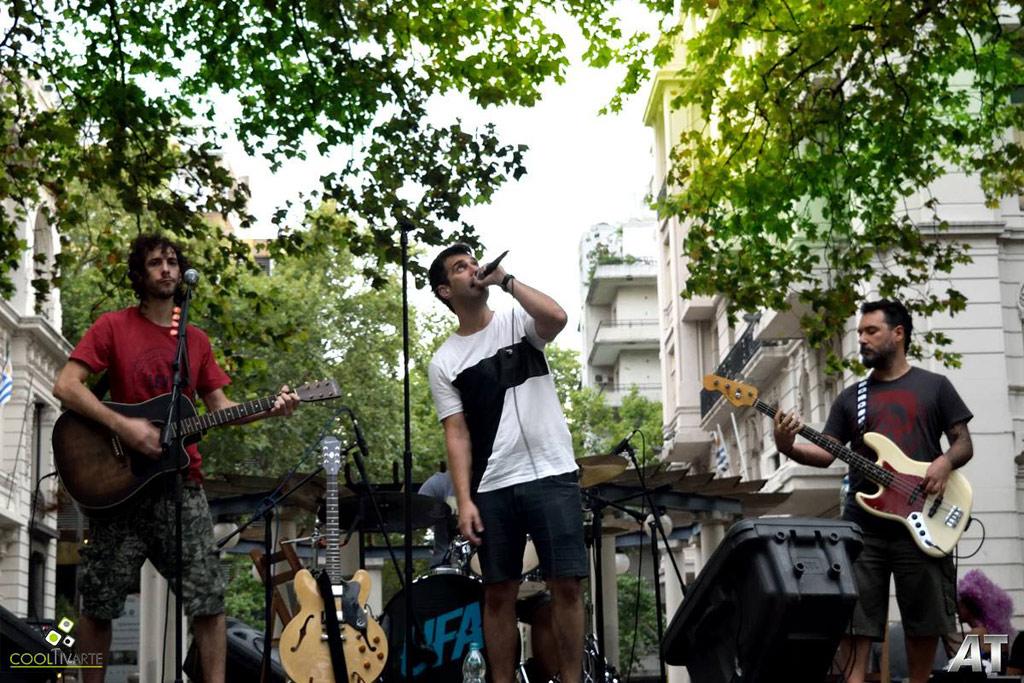 UFA presento su disco SALVAME - Plaza Cagancha - Montevideo - Febrero 2018 - Foto © Hector AT
