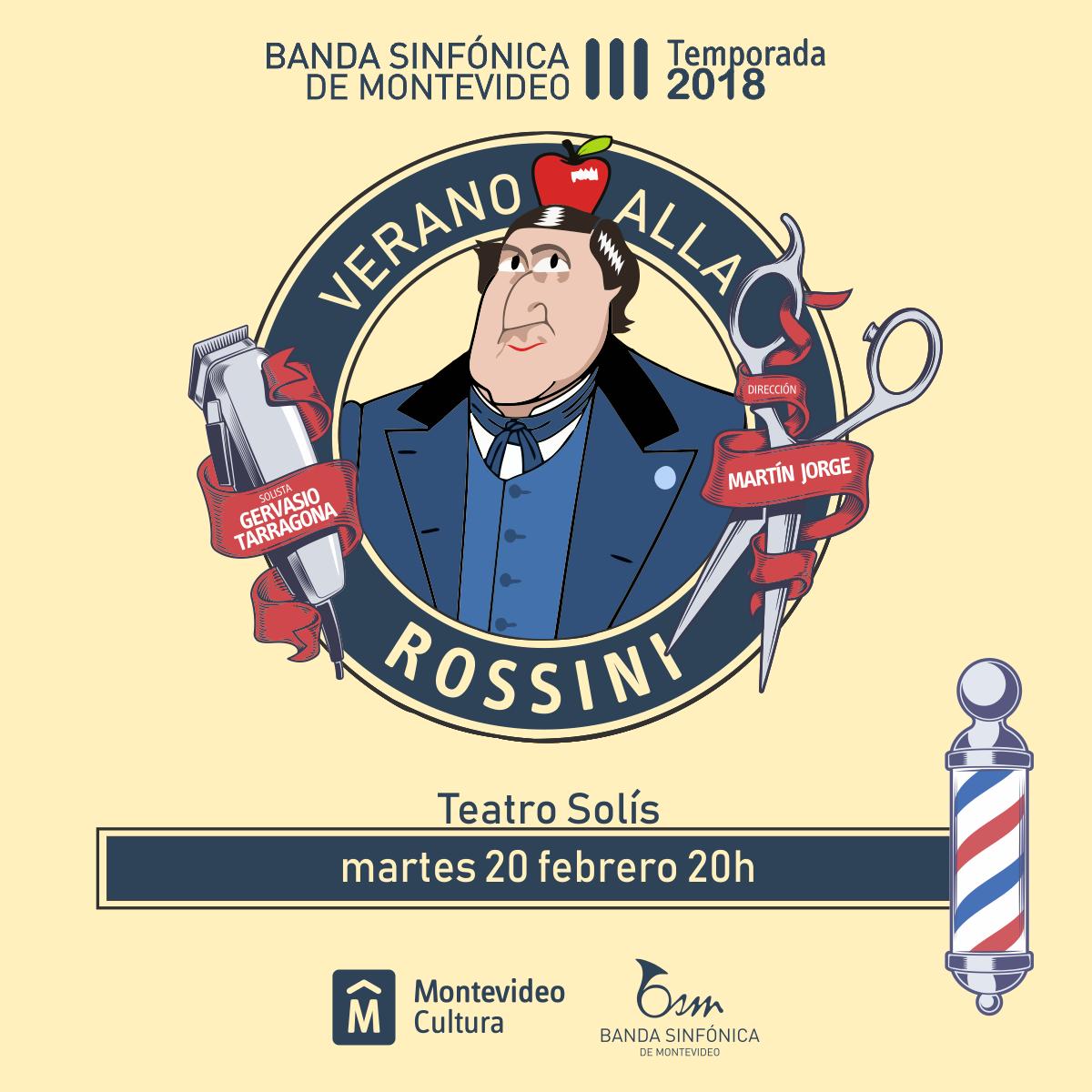 Verano alla Rossini Banda Sinfónica de Montevideo