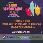Festival del Lago Encantado – 29, 30 y 31 de Marzo – Andresito – Flores