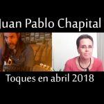 Juan Pablo Chapital en abril 2018