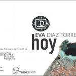 Inauguración EVA DIAZ TORRES en Museo Gurvich