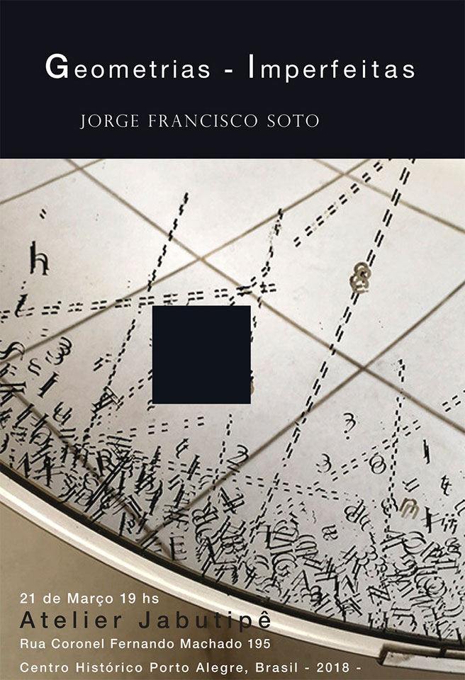 Jorge Francisco Soto - Geometrias imperfeitas no Jabutipê