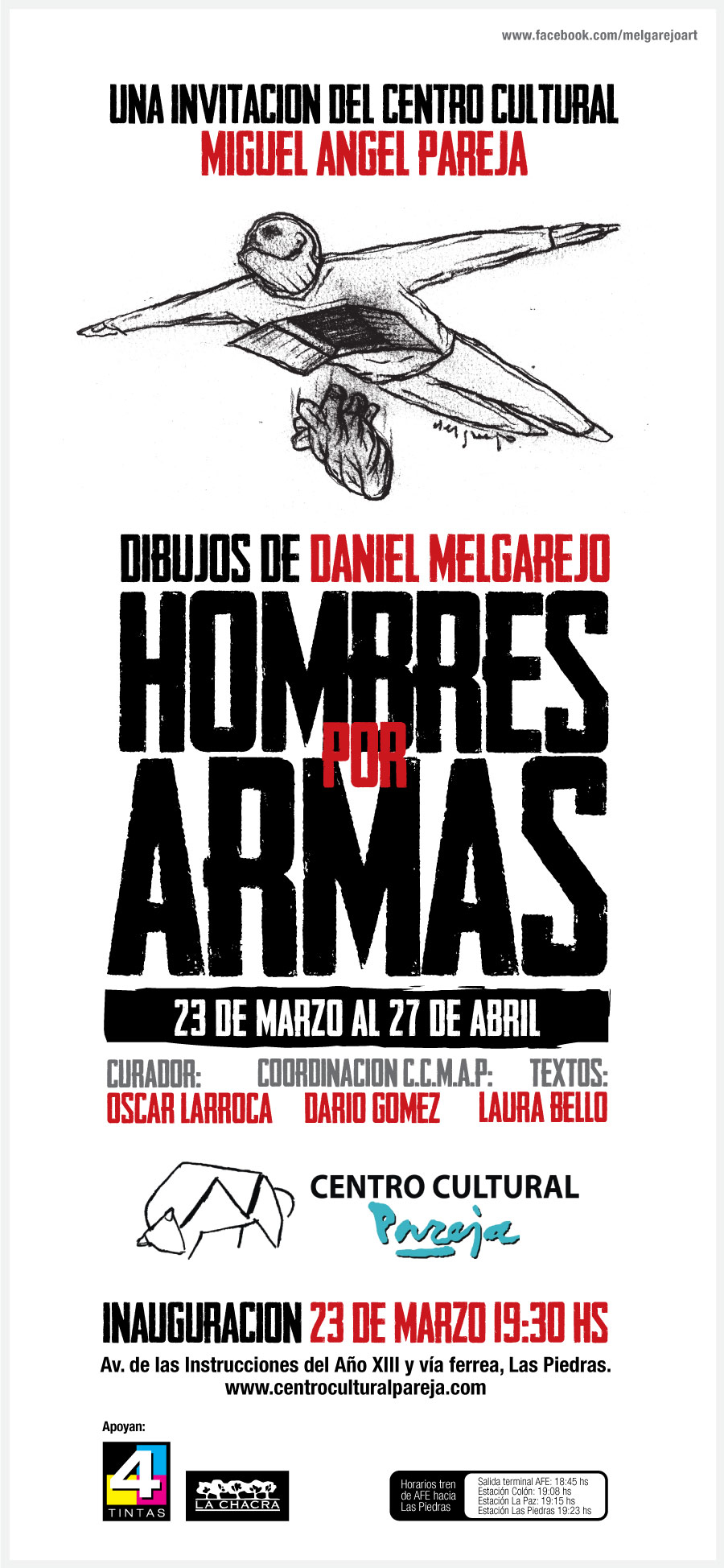 Muestra Daniel Melgarejo / Centro Cultural Pareja