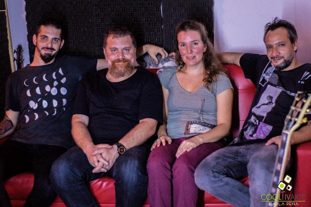 Dogma Paullier graba su primer disco en Aural Estudio - Abril 2018 - Foto © Carla Peña www.cooltivarte.com --