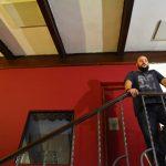 Lugosi grabando en Estudio Mastodonte