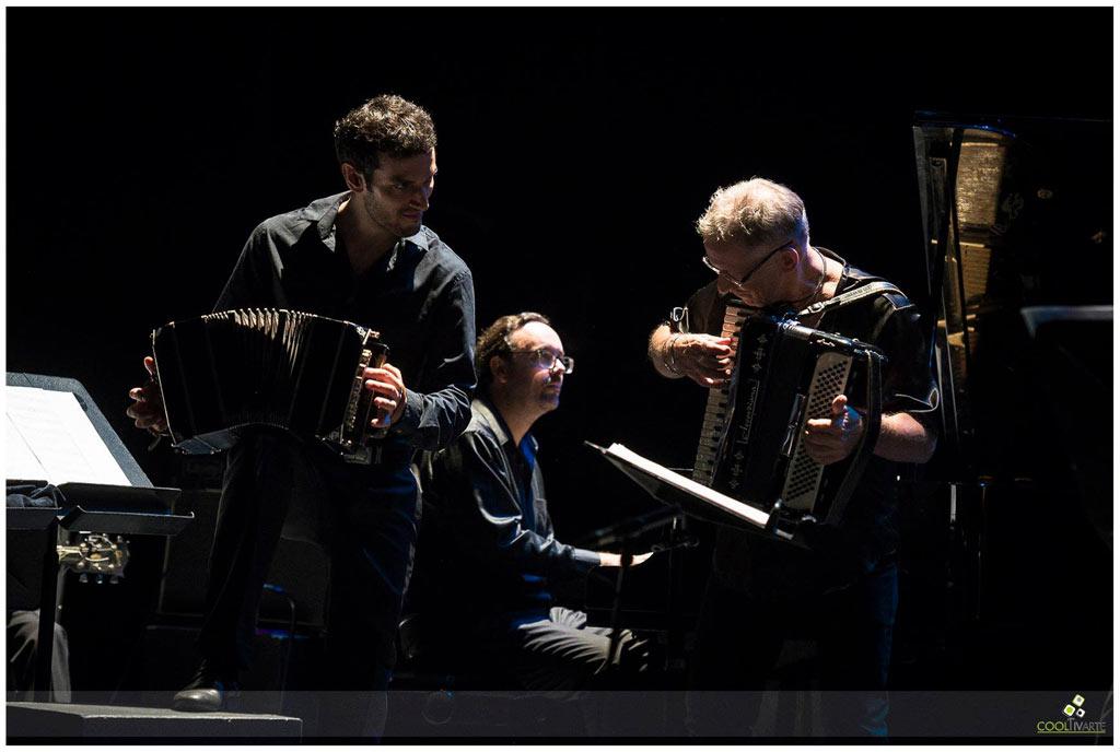 Quinteto Astor Piazzolla - Abril 2018 - Invitado - Hugo Fattoruso - Teatro Solís - Foto © Tarumán Corrales