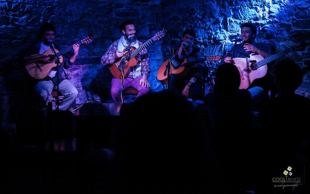 Cuarteto Ricacosa en El Tartamudo Bar - Mayo 2018 - Foto © Camilo Gómez www.cooltivarte.com ---