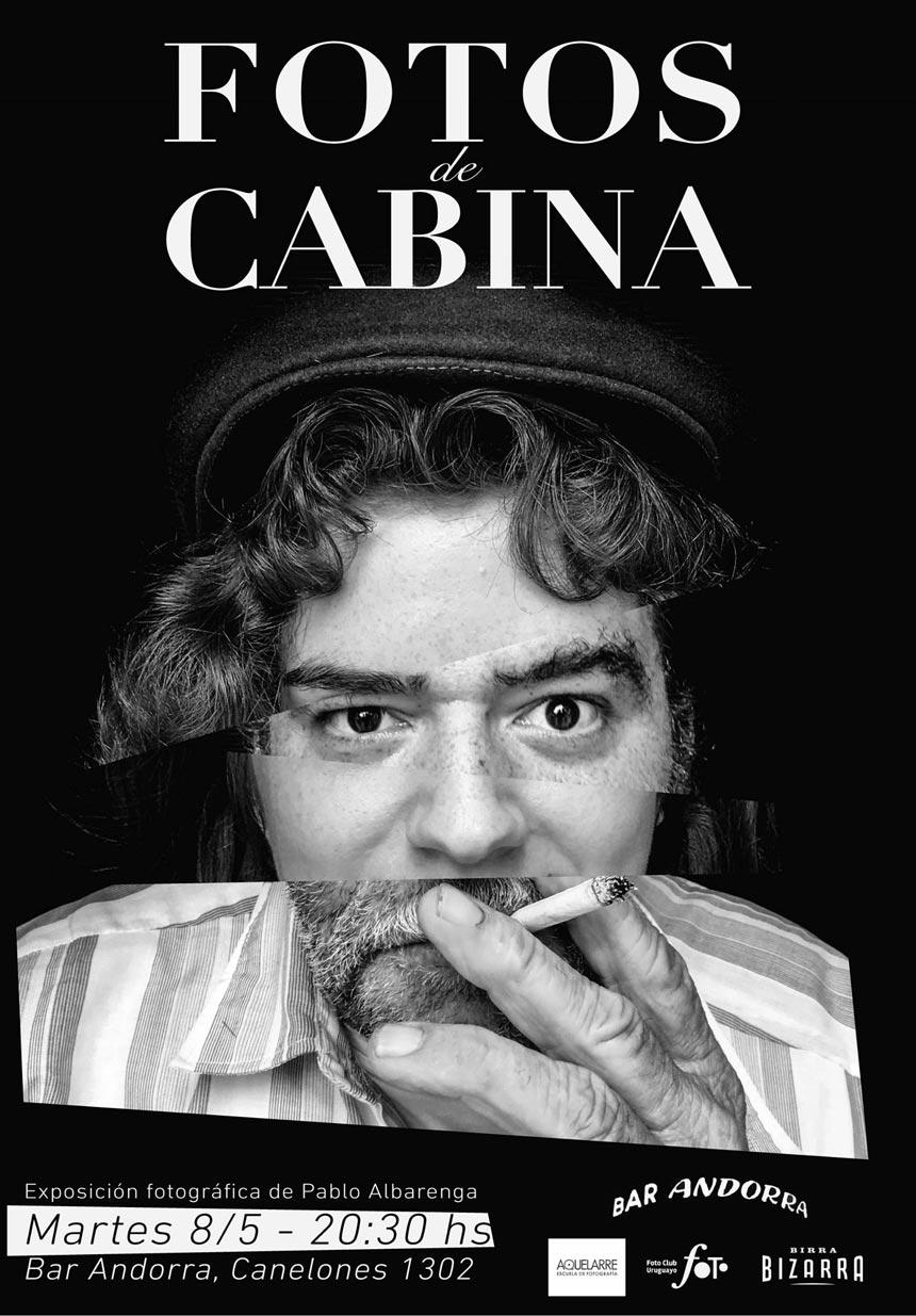 Exhibición: Fotos de Cabina, de Pablo Albarenga
