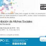 #EspacioIMPO – Exhibición de Afiches Sociales – Gabriel Benderski