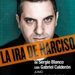 LA IRA DE NARCISO de Sergio Blanco con la actuación de Gabriel Calderón