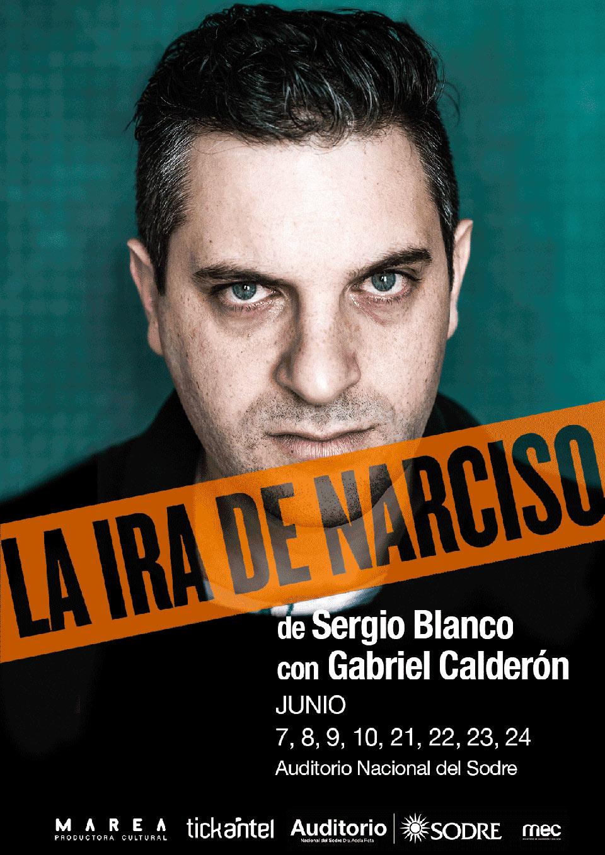 LA IRA DE NARCISO de Sergio Blanco