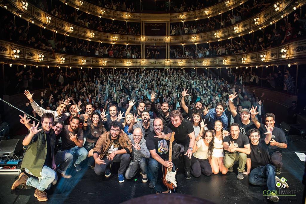 La Triple Nelson 20 años - Teatro Solís - Mayo 2018 - Foto © Martin Pereira