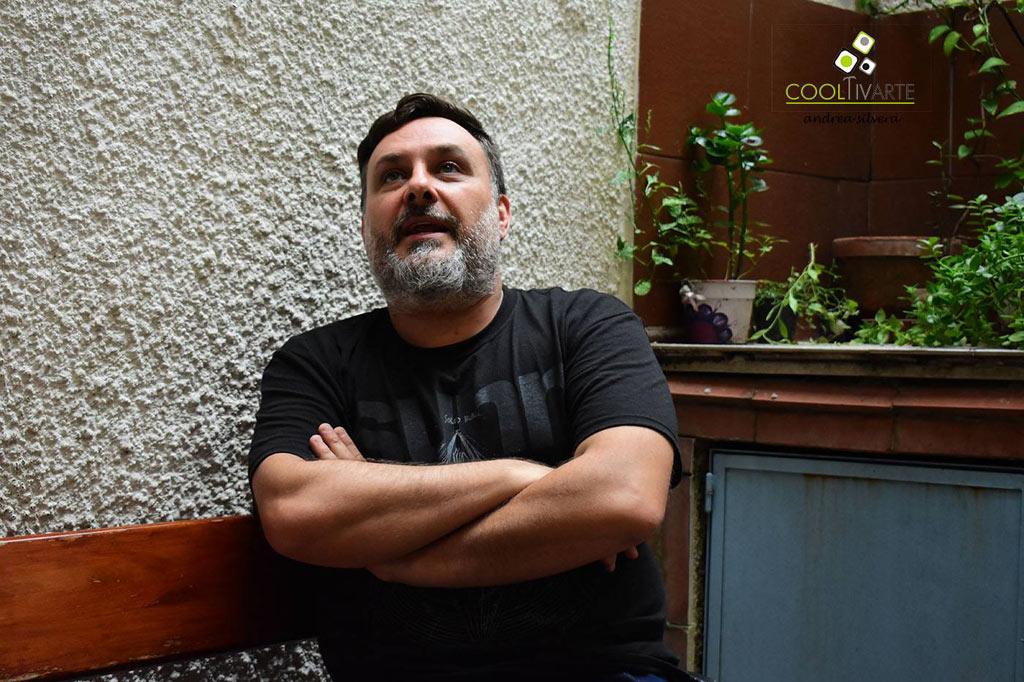 Paulo Roddel entrevista a Fernando Santullo BAJO UN CIELO SIN CONTROL- Abril 2018 - Fotos © Andrea Silvera De Giordano www.cooltivarte.com --