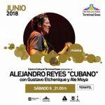 """Alejandro """"Cubano"""" Reyes en Centro Cultural Terminal Goes"""