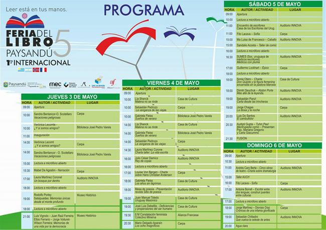 programa---5-Feria-del-Libro-de-Paysandú