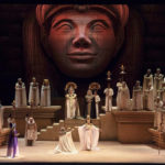 """Con una monumental puesta en escena se presentó """"Aída"""" en el Teatro Colón"""