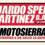 "Eduardo ""Speedo"" Martínez en Uruguay!"