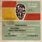 CANDOMBE VIVO 4ta edición :: 14, 15 y 16 Septiembre en Sala Zitarrosa