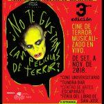 Ciclo itinerante de películas de terror musicalizadas en vivo por músicos y DJs