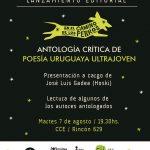 En el camino de los perros, antología crítica de poesía ultrajoven uruguaya