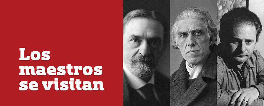 Los Maestros se visitan - Pedro Figari - Joaquín Torres García - José Gurvich